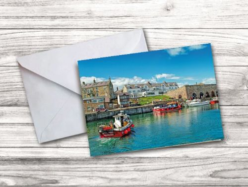 Seahouses Notecard